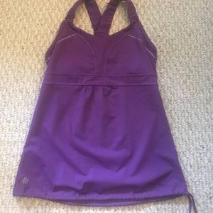 Athleta purple workout top